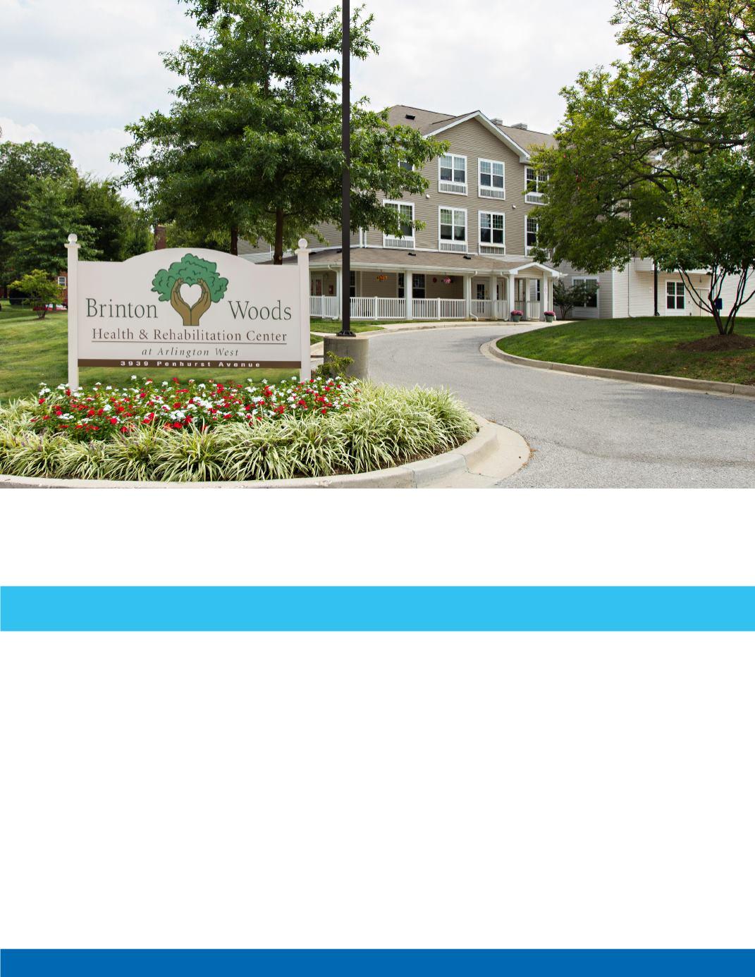 Famous Brinton Woods Nursing Home Frieze - Home Decorating Ideas ...