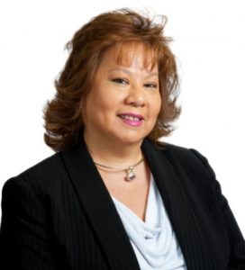 Assuria Chairman portrait photo of Angela Lee Loy.