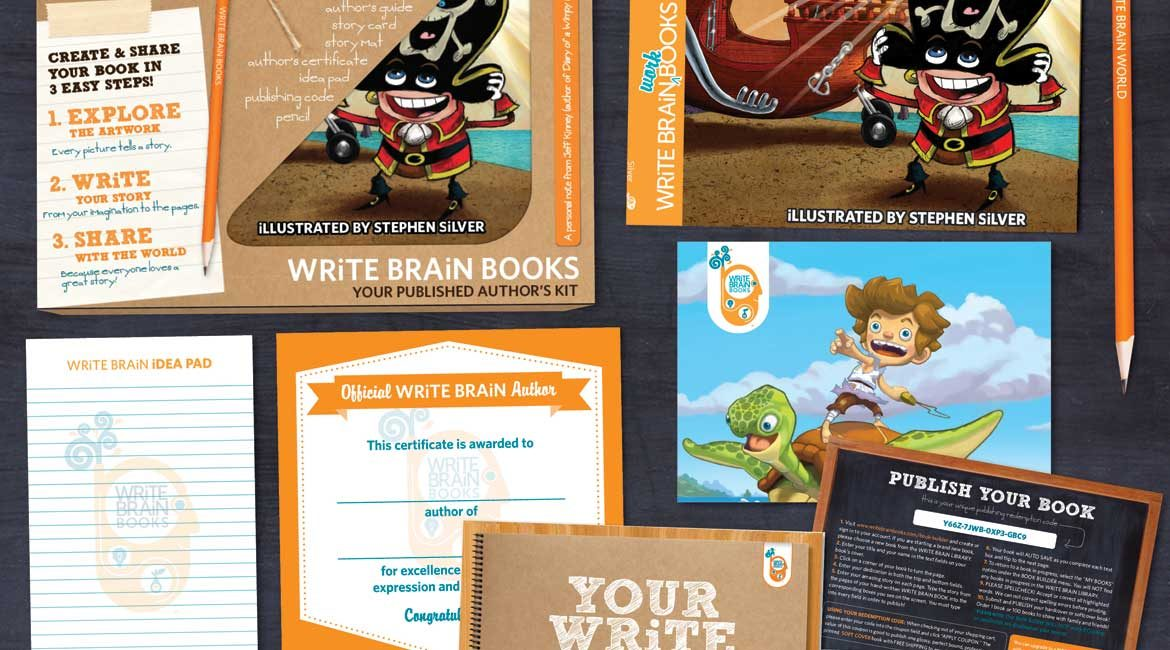 WRiTE BRAIN BOOKS / WRiTE BRAiN WORLD Start-up Inspires Kids