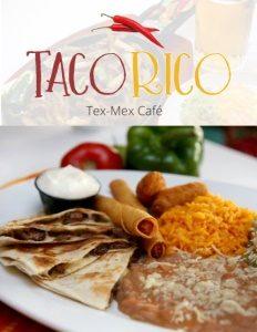 Taco Rico brochure