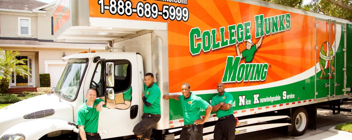 College Hunks, truck, moving, junk removal, donation, packing, hunks, chhj
